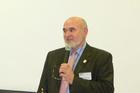 Dr. Hegedűs Lajos MEOSZ elnök előadást tart