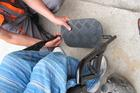 A lábtartó beállítása